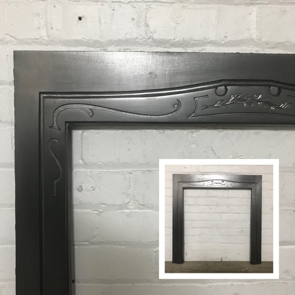 Reclaimed Edwardian antique cast iron reducer.-0