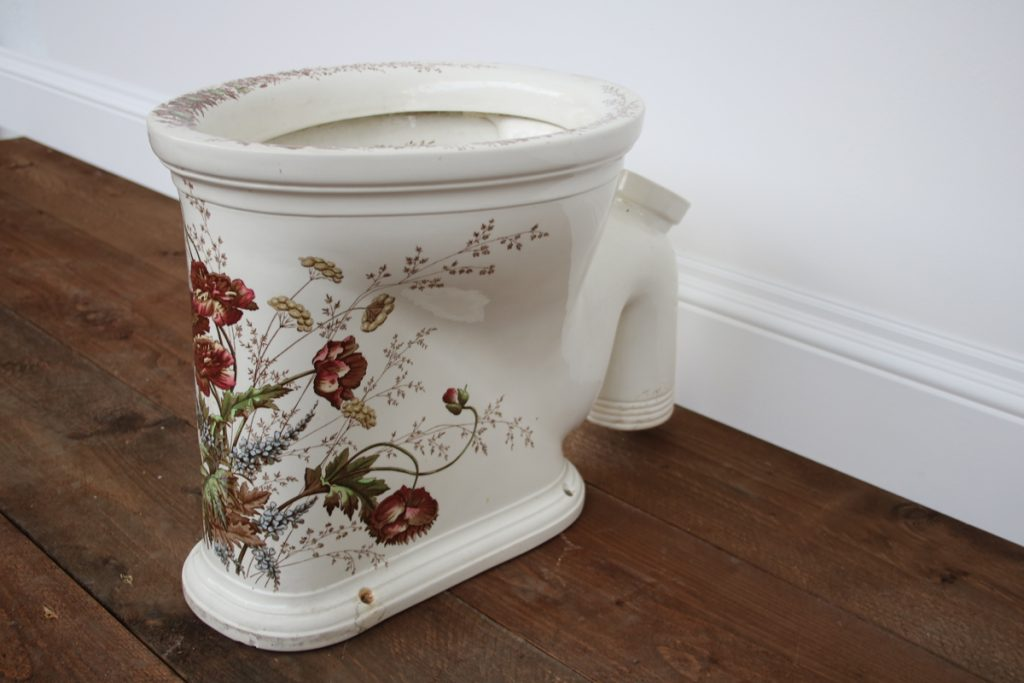 The Carbula an antique victorian polychrome toilet by George Farmiloe and Sons-0