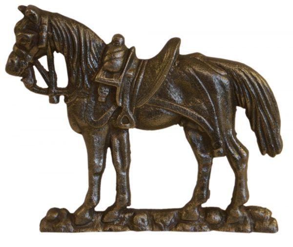 Antique Victorian cast iron mantelpiece ornament.-0
