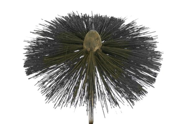 Reclaimed bamboo chimney sweeps brush-0