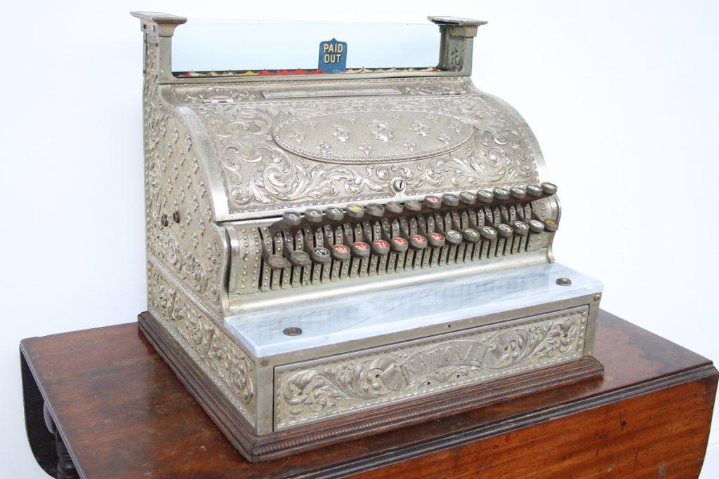 Victorian cash register by National Cash Register Co-0