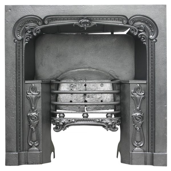 Victorian cast iron hob register grate-0