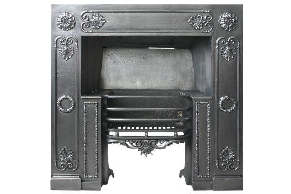 Fine Early 19th Century Regency Cast Iron Register Grate-0