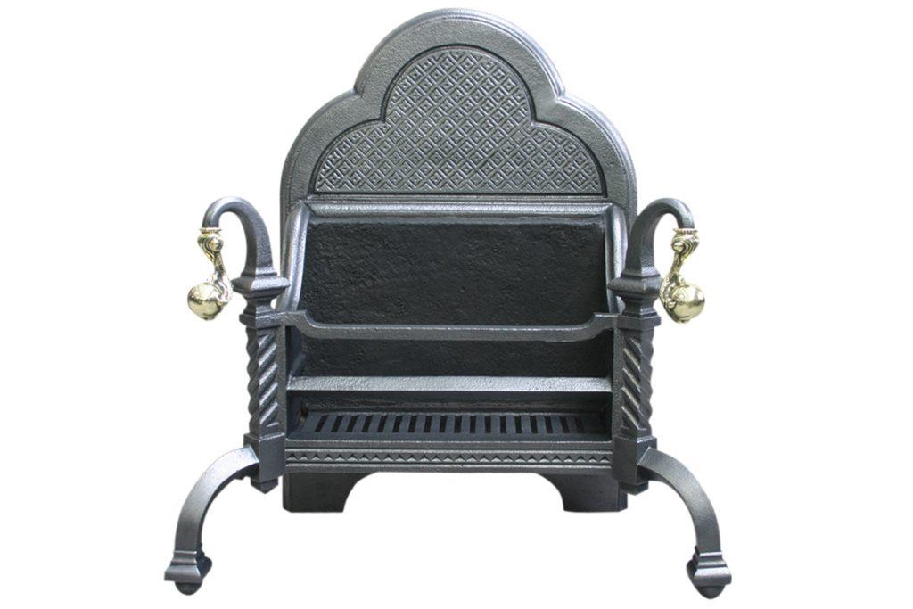 Reclaimed 19th Century Cast Iron Dog Grate-0
