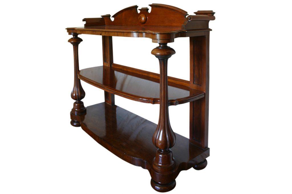 19th Century Victorian Mahogany Buffet-0